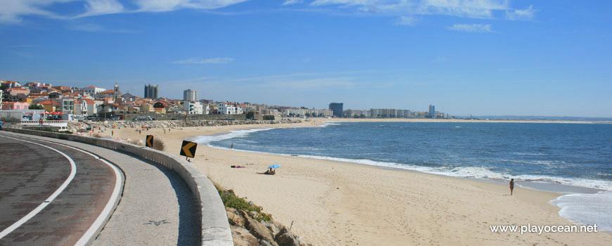 Praia da Tamargueira, vista da avenida
