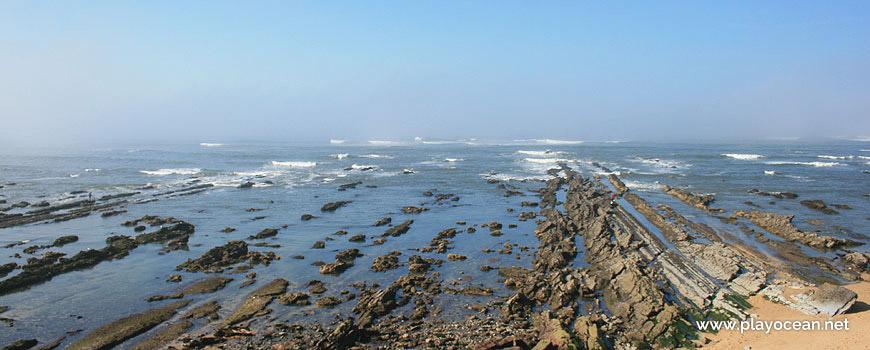 Mar na Praia do Teimoso