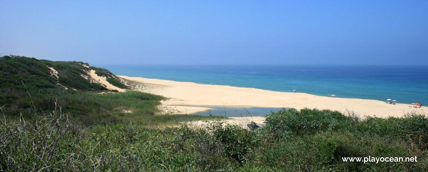 Ribeira das Fontainhas Praia da Aberta Nova