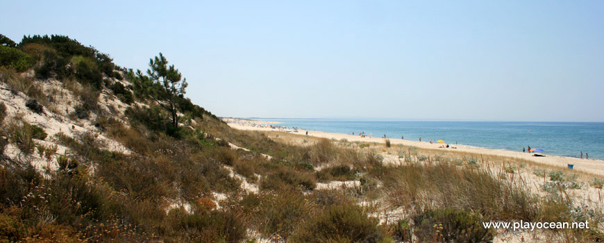 Areal zona Norte Praia Atlântica