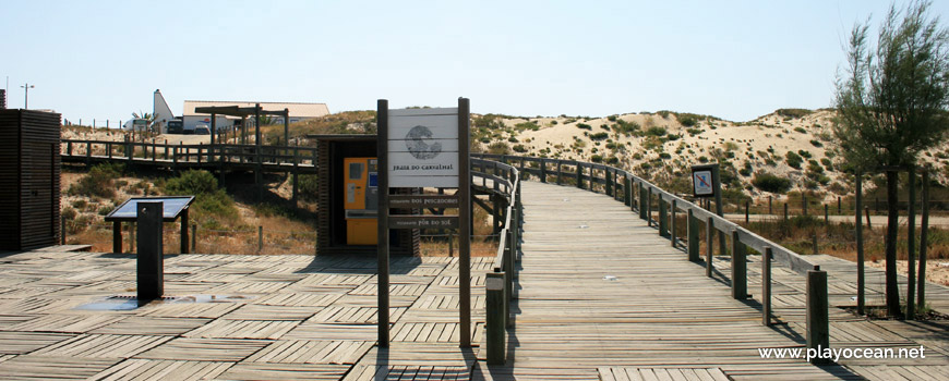 Access to Praia do Carvalhal Beach