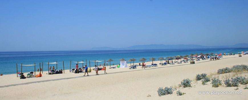 Areal concessionado, Praia da Comporta
