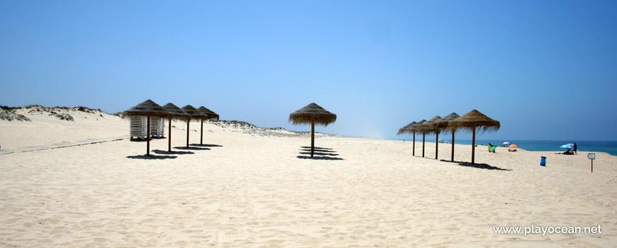 Chapéus de sol Praia de Melides
