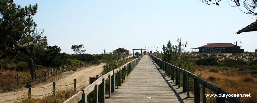 Acesso pedonal Praia do Pêgo