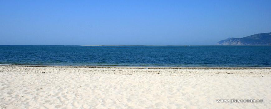 Banco de areia próximo da Praia da Questa