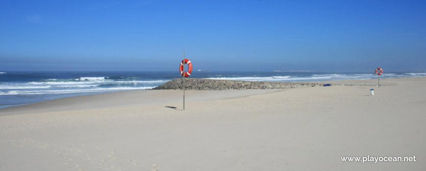 Área vigiada, Praia da Costa Nova