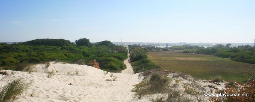 Saída da Praia da Costinha