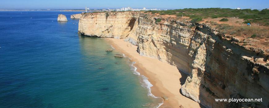 West at Praia da Afurada Beach