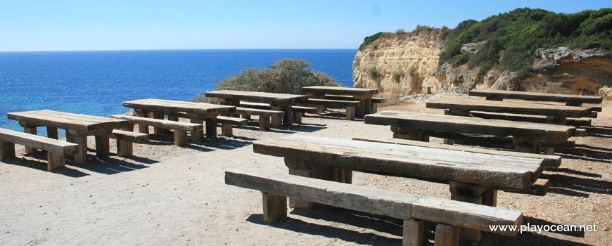Parque de merendas, Praia de Albandeira