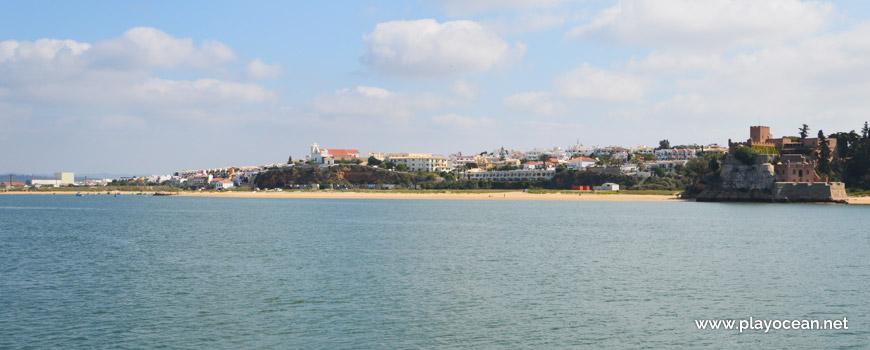 Panoramic of Praia da Angrinha Beach