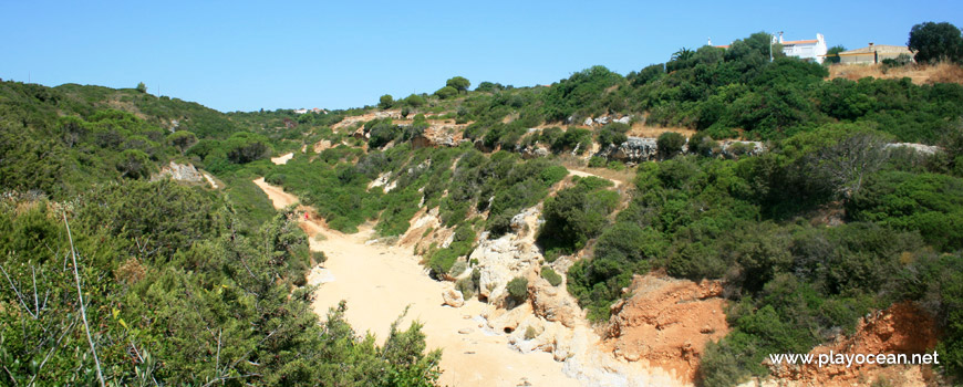 Access to Praia do Barranco Beach