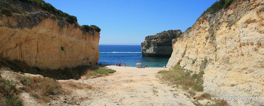 Entrance of Praia do Barranquinho Beach