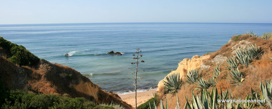 Sea at Praia dos Beijinhos Beach