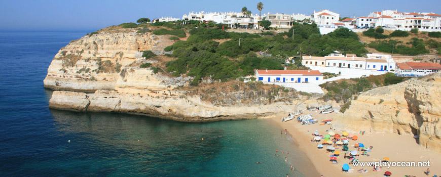 West at Praia de Benagil Beach