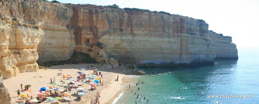 East at Praia de Benagil Beach