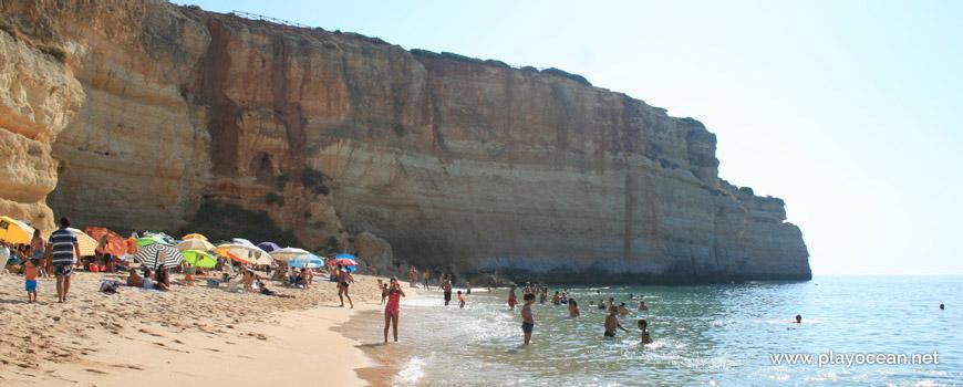 Seaside of Praia de Benagil Beach