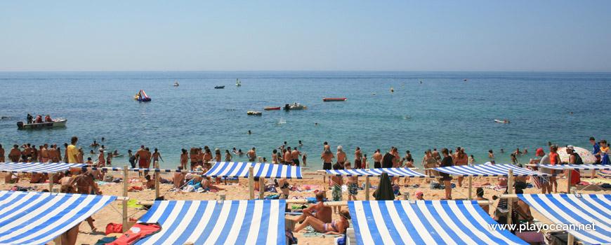 Mar na Praia de Carvoeiro