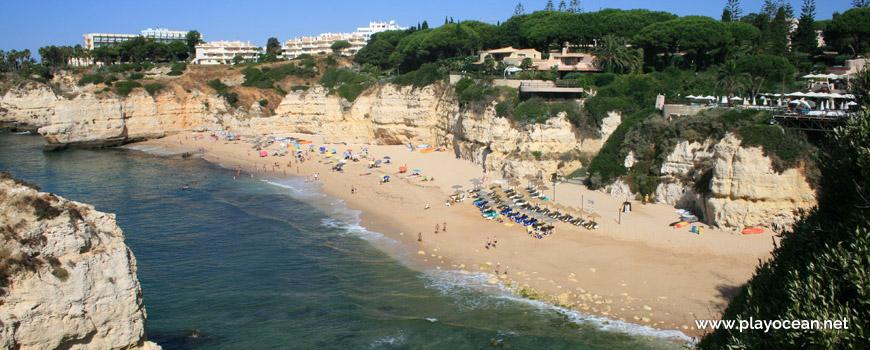 Panoramic of Praia da Cova Redonda Beach