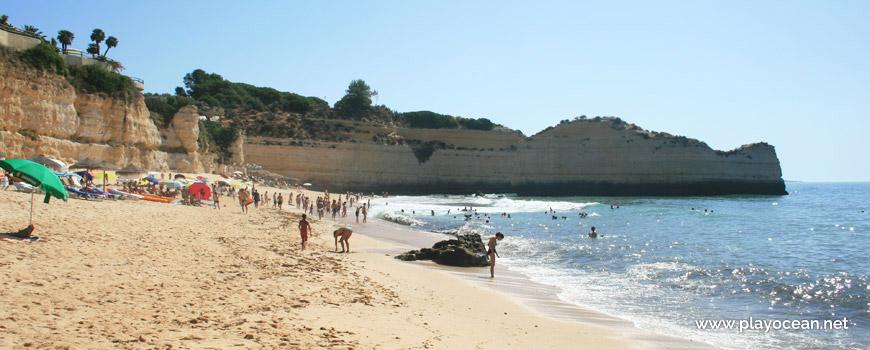 Seaside of Praia da Cova Redonda Beach