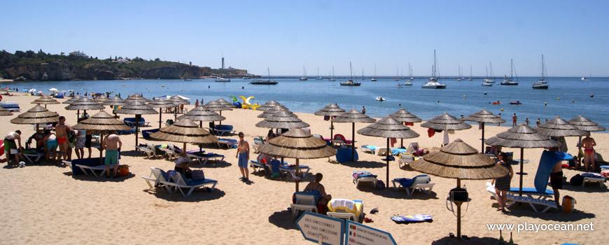 Lifeguarded area, Praia Grande Beach