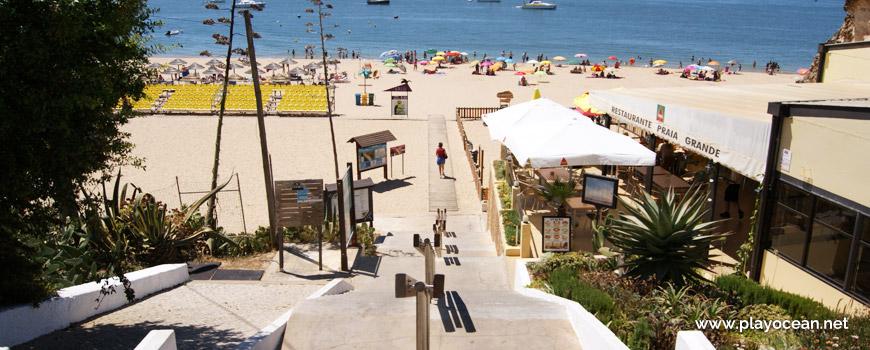 Entrance, Praia Grande Beach