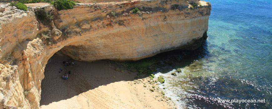 Gruta, Praia da Malhada do Baraço