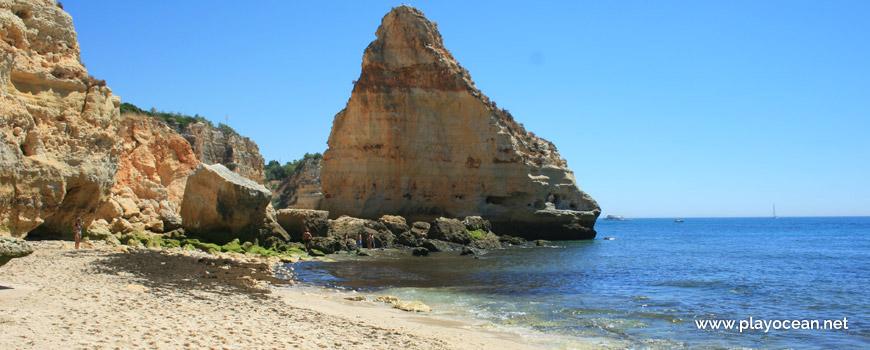 Rock at Praia da Mesquita Beach