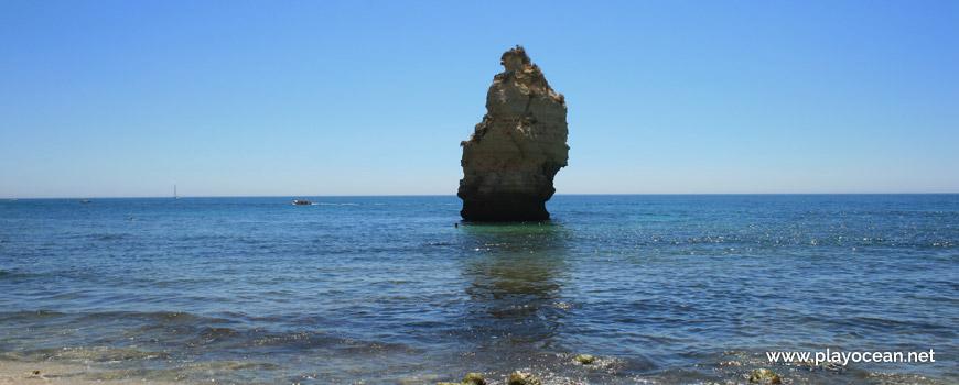 Islet at Praia da Mesquita Beach