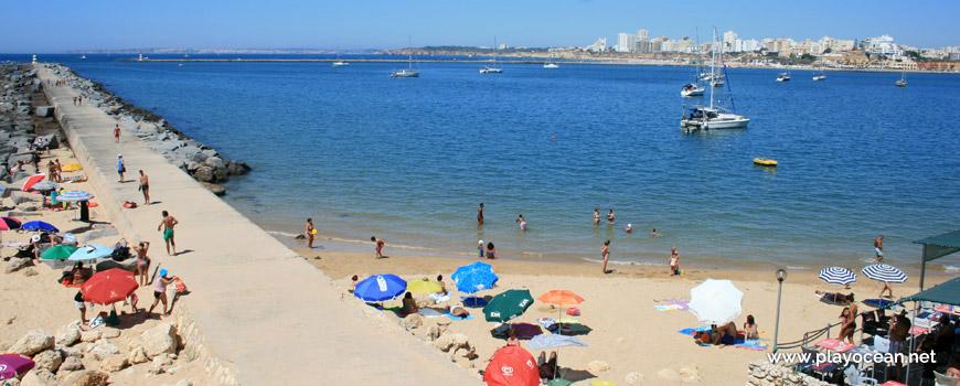 Pier of Praia do Molhe Beach