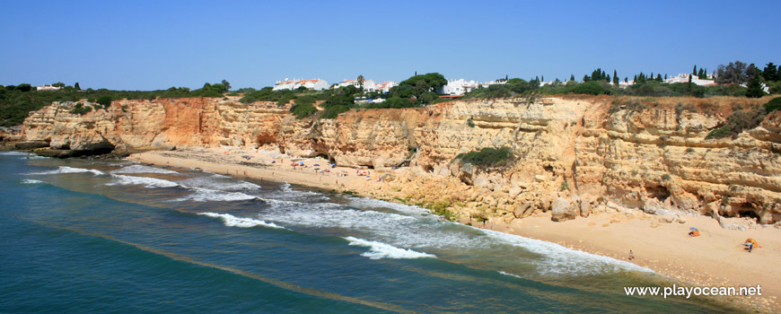 Panoramic of Praia Nova Beach