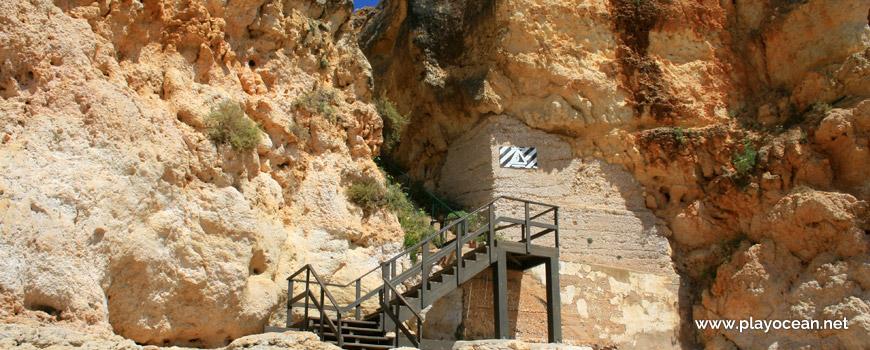 Stairway at Praia Nova Beach
