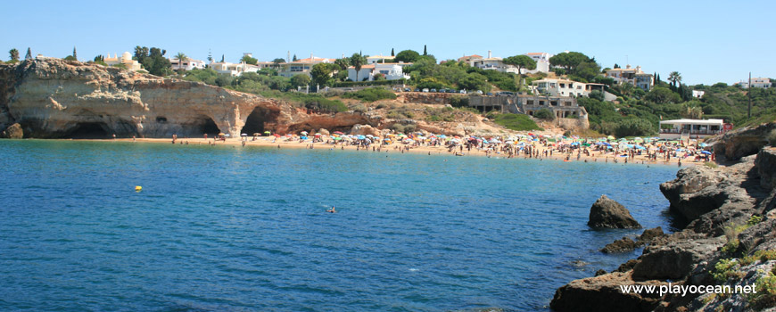 Panoramic of Praia do Pintadinho Beach