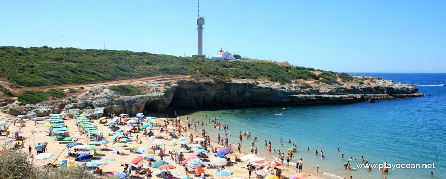 South at Praia do Pintadinho Beach