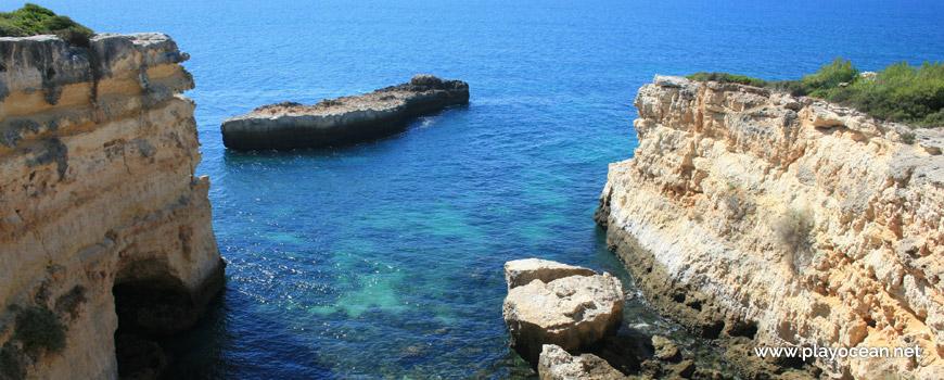 Mar na Praia do Salgueiro