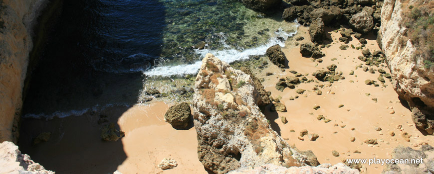 Sand at Praia do Salgueiro Beach