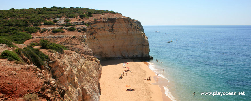 East at Praia do Torrado Beach