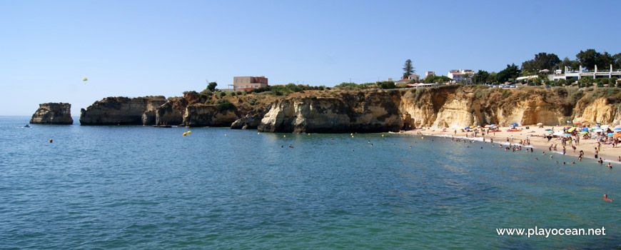 Cliffs at Praia da Batata Beach