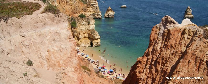 Praia do Camilo Beach, cliff