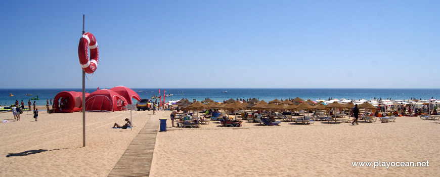 LIfeguard station, Praia da Luz Beach