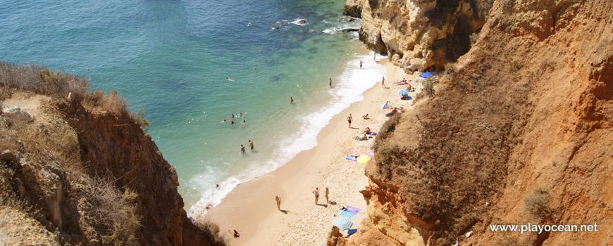 Praia do Pinhão Beach, cliff