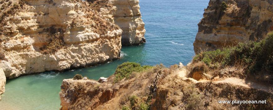 Falésias na Praia dos Pinheiros
