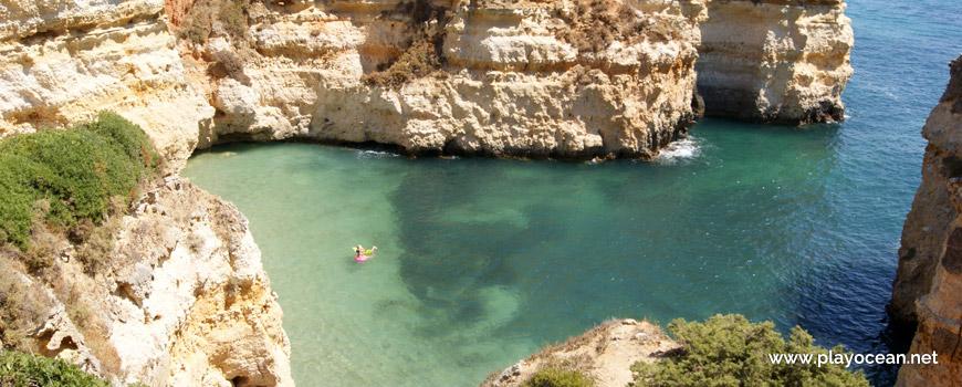 Mar na Praia dos Pinheiros