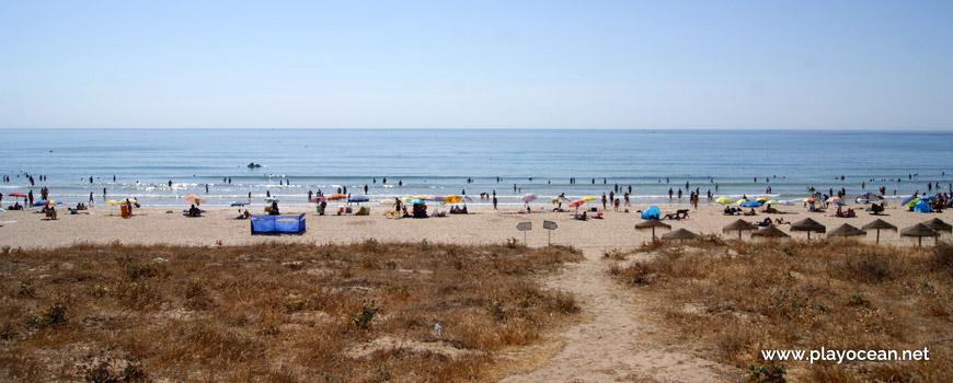 Sea at Praia de São Roque Beach