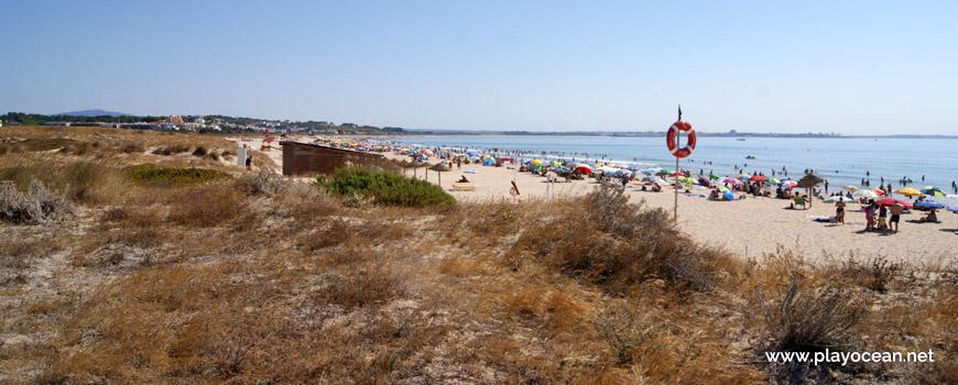 East at Praia de São Roque Beach