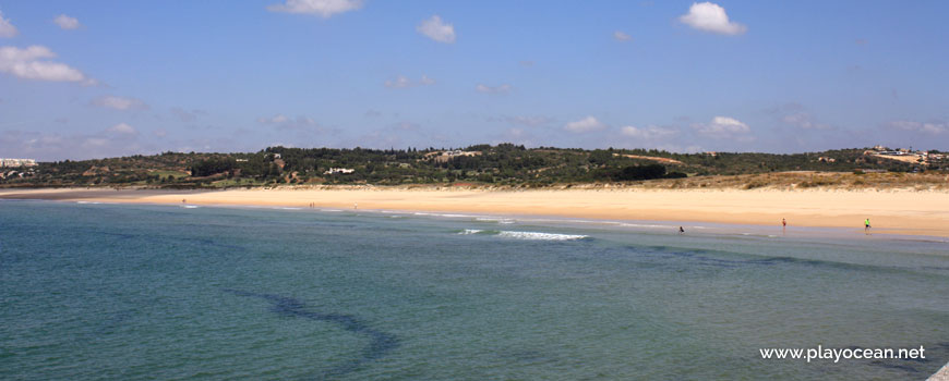 Panoramic of Praia do Vale da Lama Beach