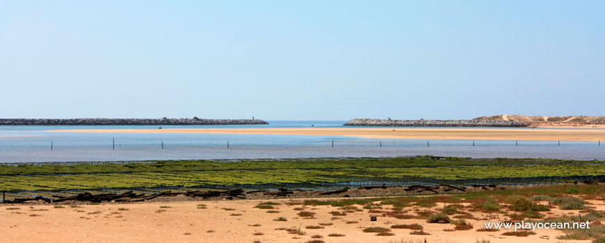 Bar of the Alvor Estuary