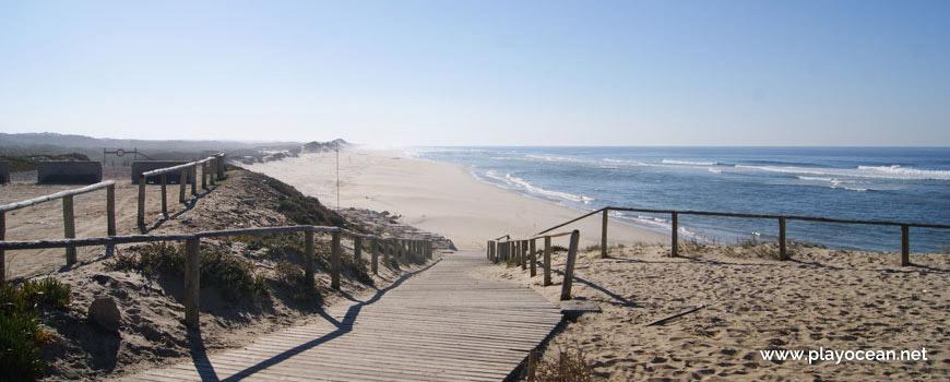 Acesso à Praia do Pedrogão (Sul)