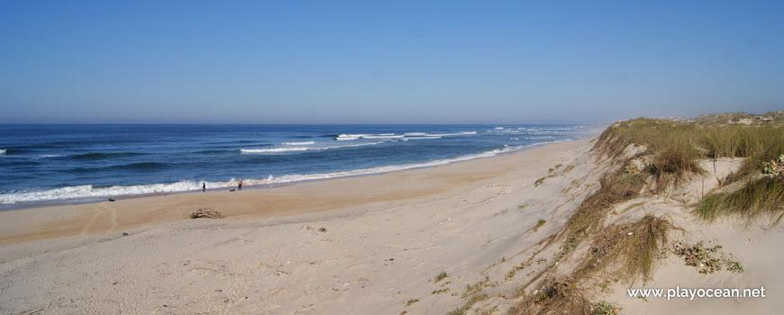 Norte da Praia do Vigão