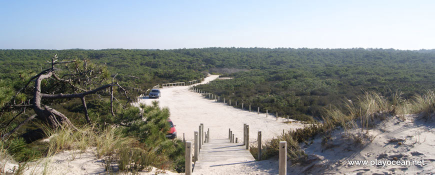 Estacionamento da Praia do Vigão