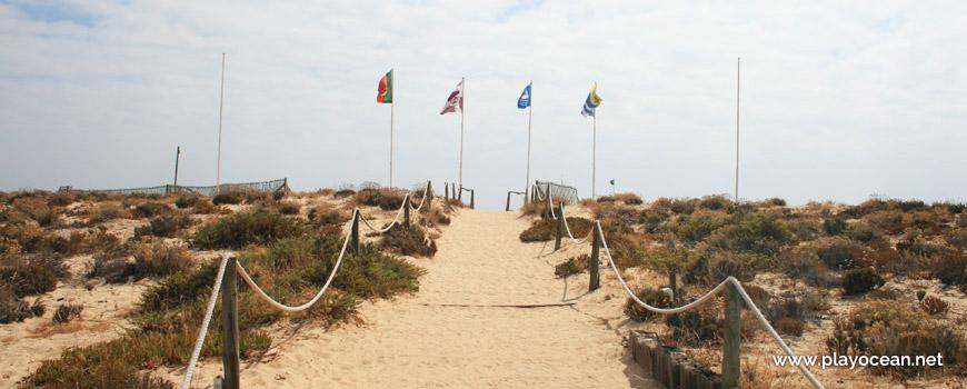 Estandartes da Praia do Ancão
